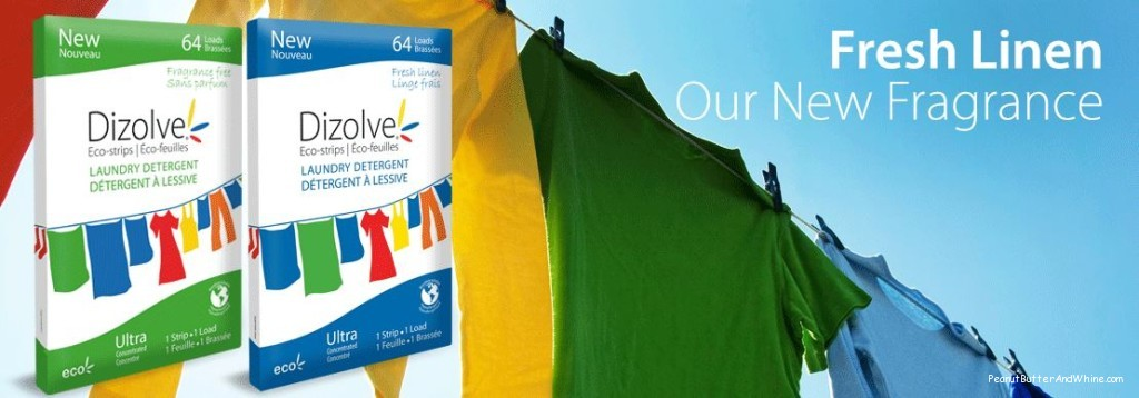Dizolve Laundry Detergent Giveaway!! A YEARS WORTH!!