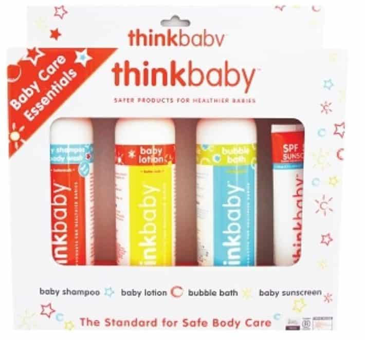 baby care items for giveaway from thinkbaby
