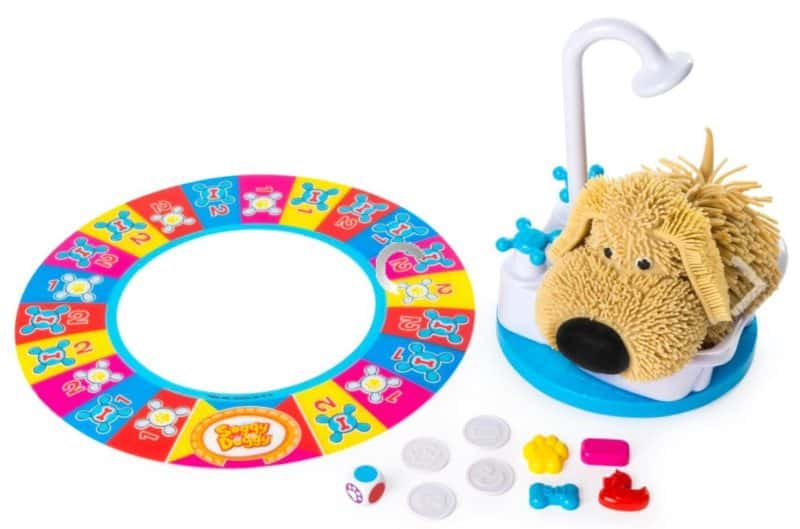 soggy doggy family game from spin master games