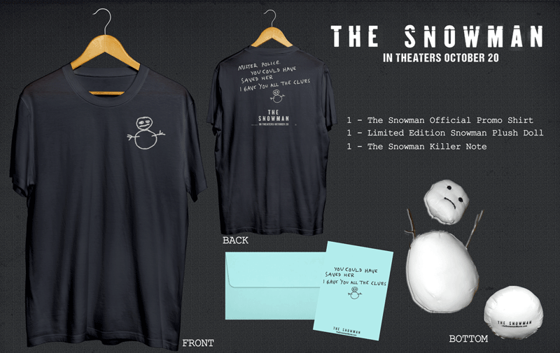 The Snowman Movie Prize Pack