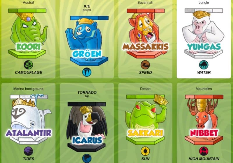 Abaton Animals Blind bags
