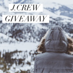 $150 J.Crew Gift Card Giveaway!
