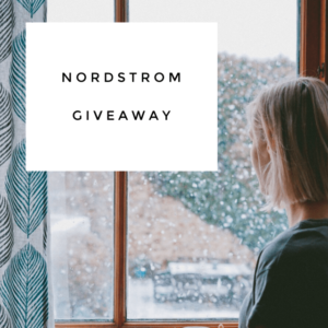 $150 Nordstrom Gift Card Giveaway!