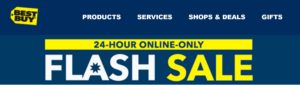 Best Buy 24-Hour Online Only FLASH SALE!!!