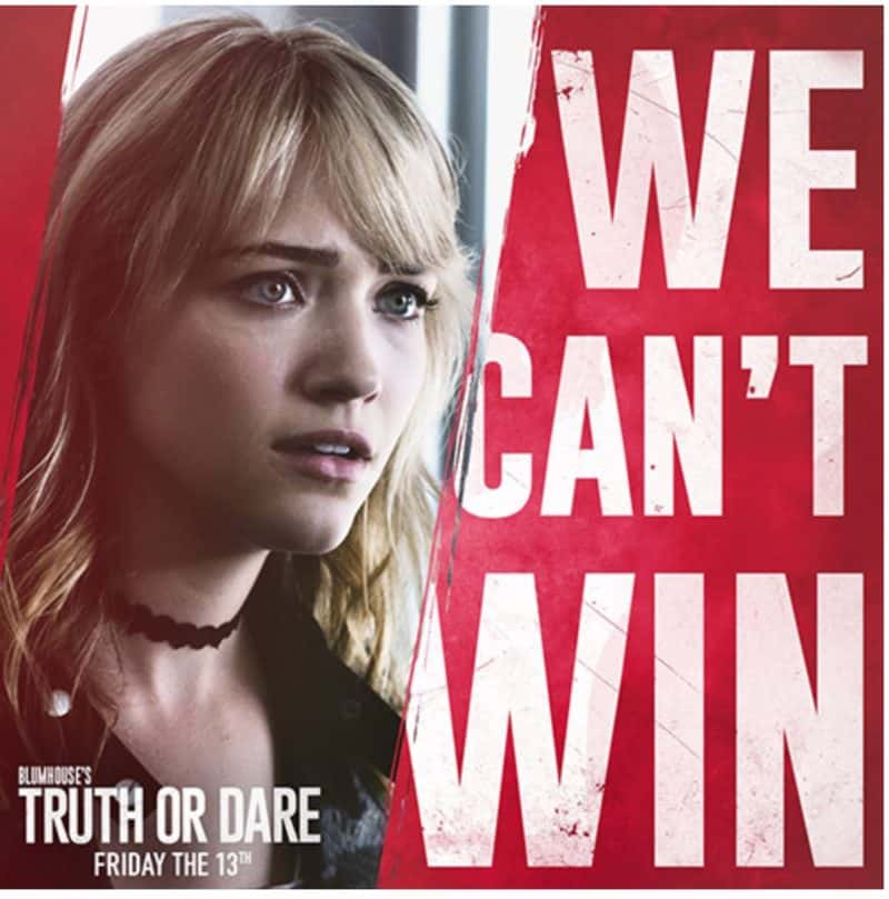 Truth or Dare movie giveaway