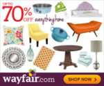 Sign Up With WayFair and Get 10% Off!!!