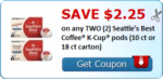 Happy Monday! Coupon Haul!! $2.25 Off Seattle's Best K-Cups!