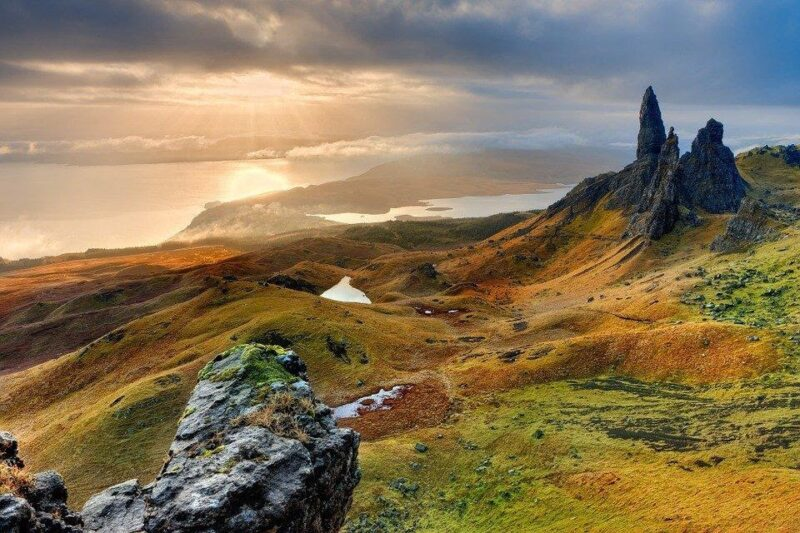 Over the sea to Skye, Scotland